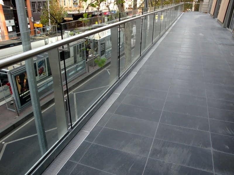 Wet Deck Expanded Steel Grating